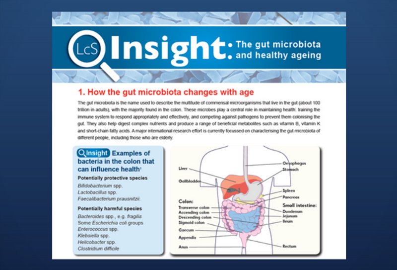 Aging and the Microbiota