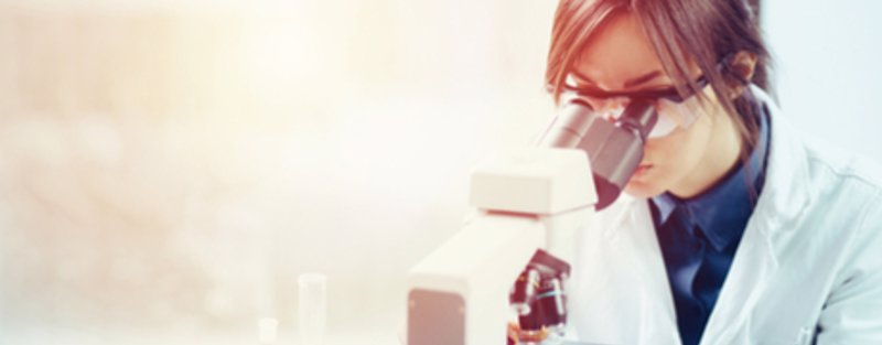 Microscope & Scientist 460x180